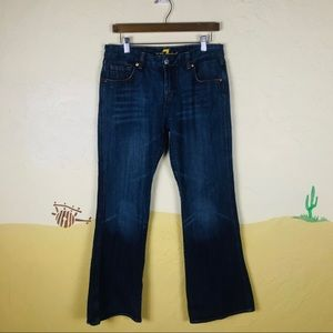 7 for all Mankind Sz 31 Jeans Bootcut (A Pocket)